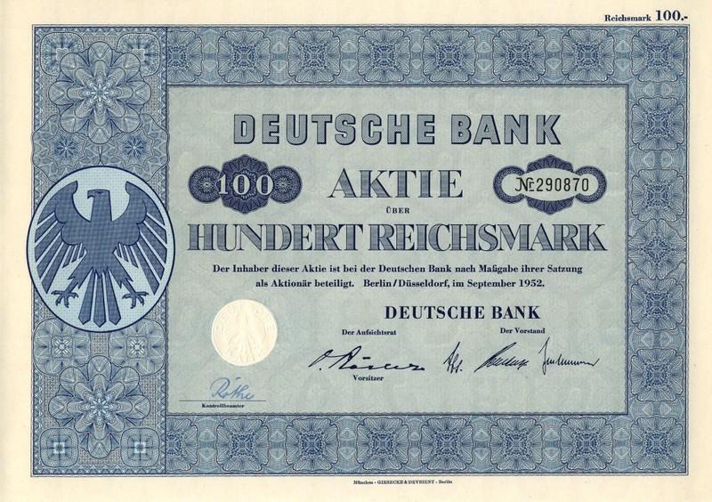 Aktie Dt. Bank